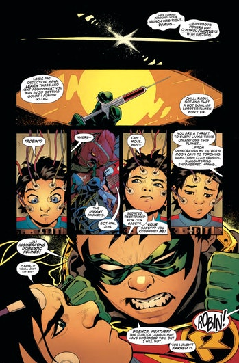 Superboy Robin In the Name of the Father