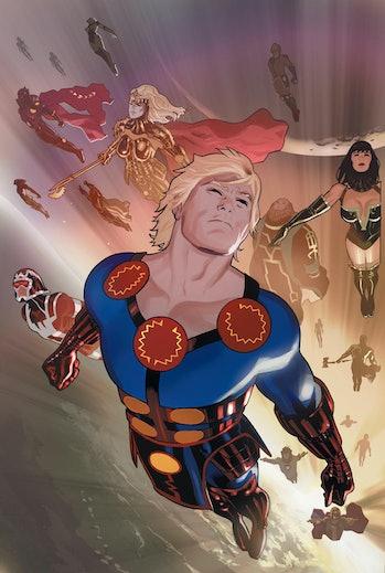 Daniel Acuna Eternals Marvel