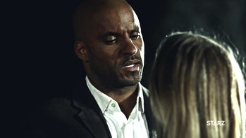 Ricky Whittle as Shadow was originally supposed to get a blowjob in 'American Gods'