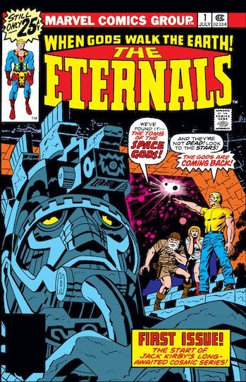 Eternals Jack Kirby