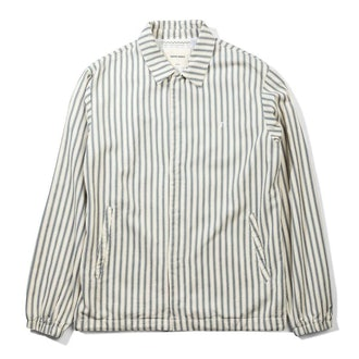 Native North Striped Herringbone Coach Jacket