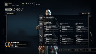How The For Honor Gear System Works
