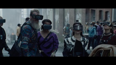 Random OASIS players in 'Ready Player One'.