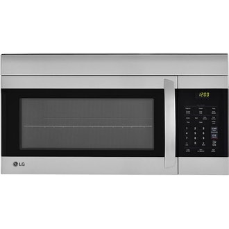 LG 30-Inch Stainless Steel Over the Range Microwave