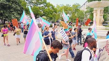 Trans Solidarity Rally