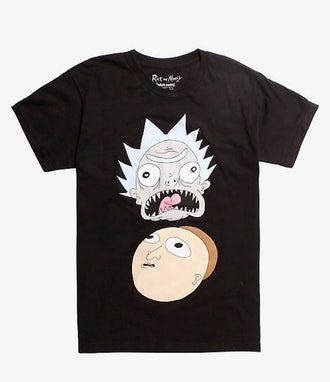 RICK AND MORTY BUSHWORLD ADVENTURES T-SHIRT HOT TOPIC EXCLUSIVE