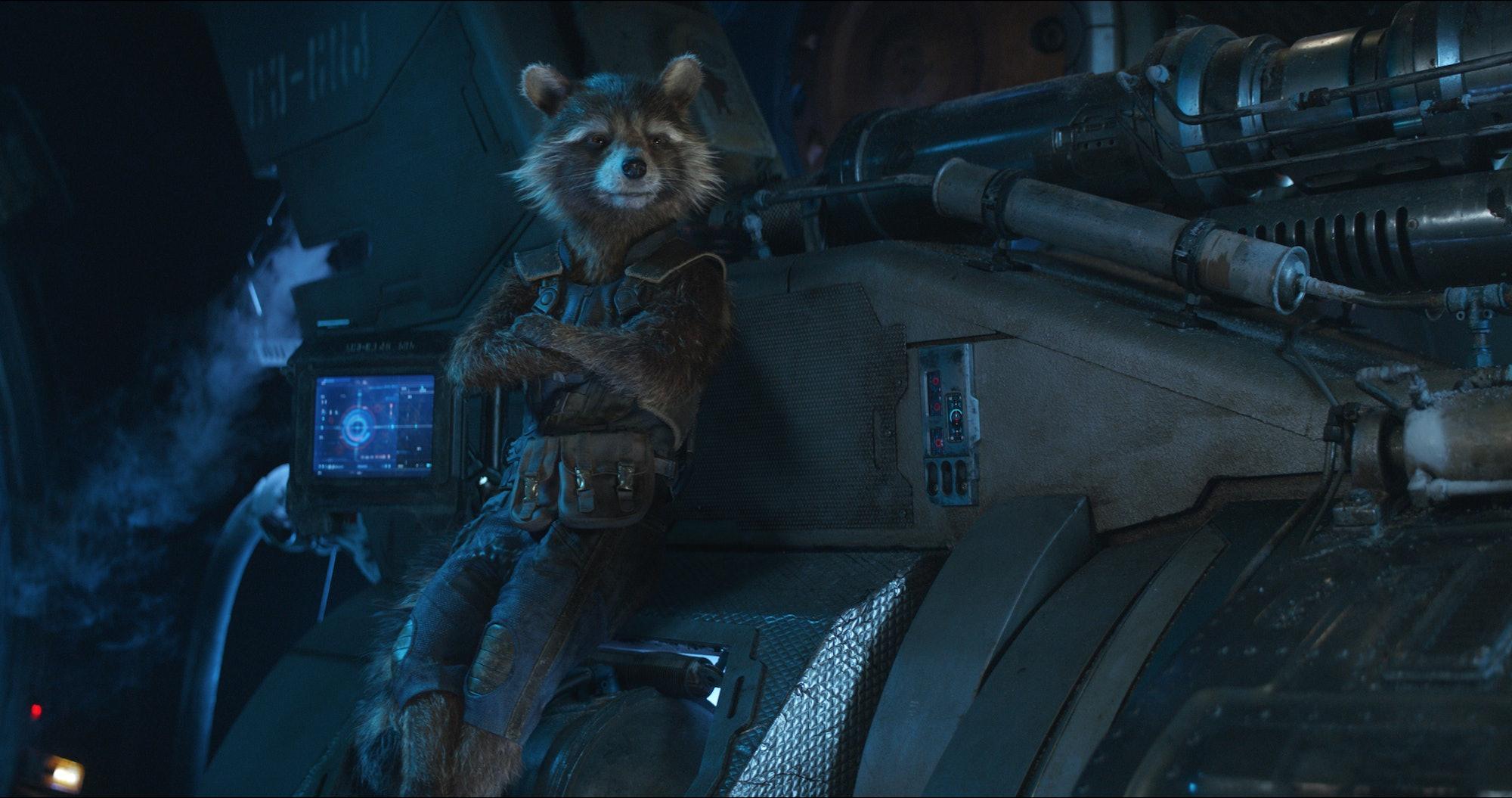 Avengers infinity War Rocket