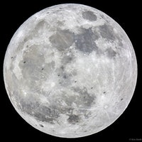 The International Space Station Looks Like a TIE Fighter in this Supermoon Image