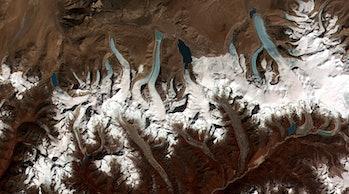 Glaciers, climate change