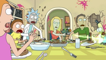 rick and morty beth shoots mr poopybutthole