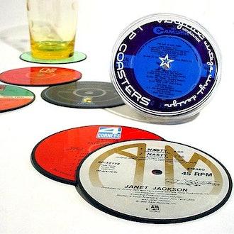 Vintage Record Coaster