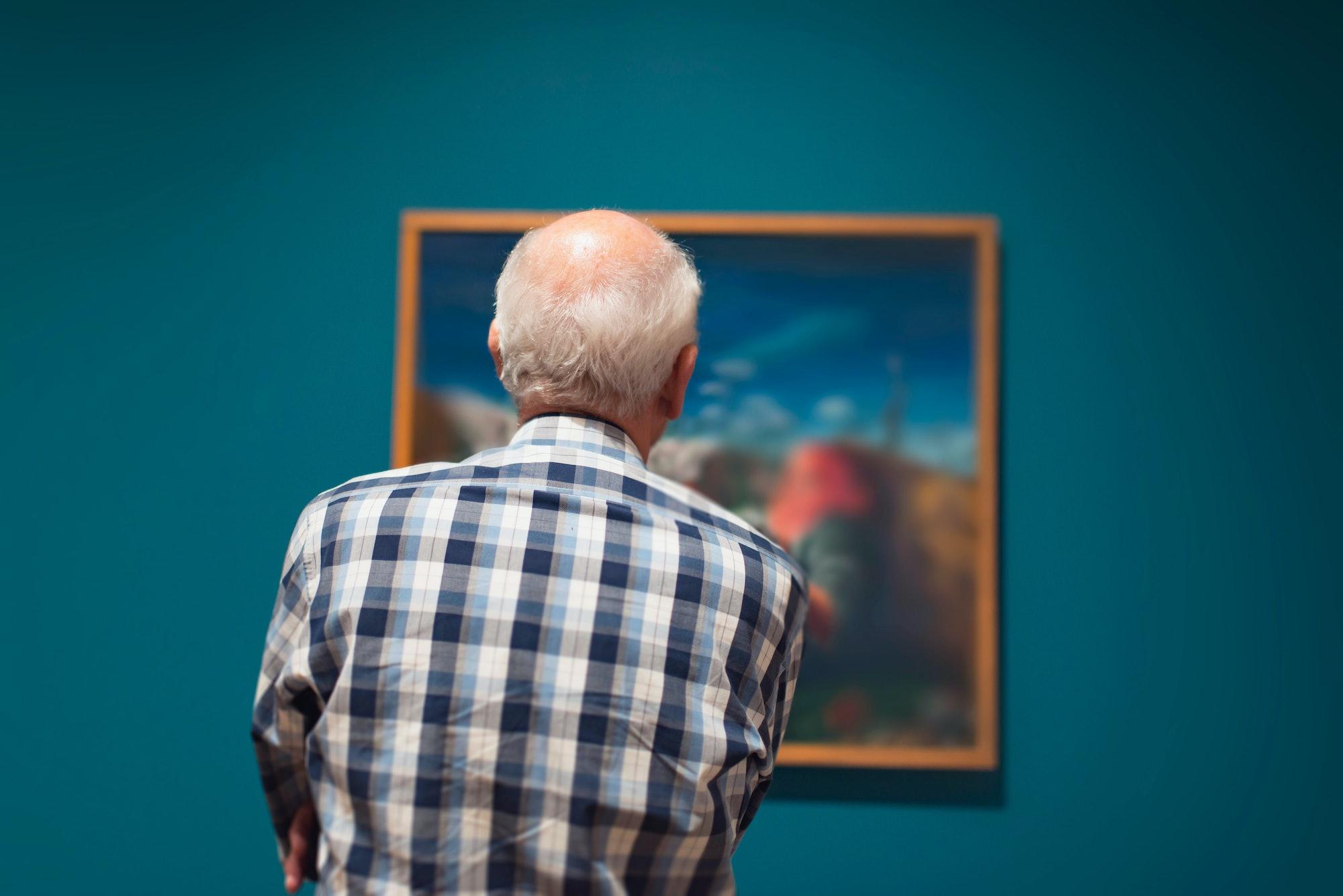 art, cognitive decline