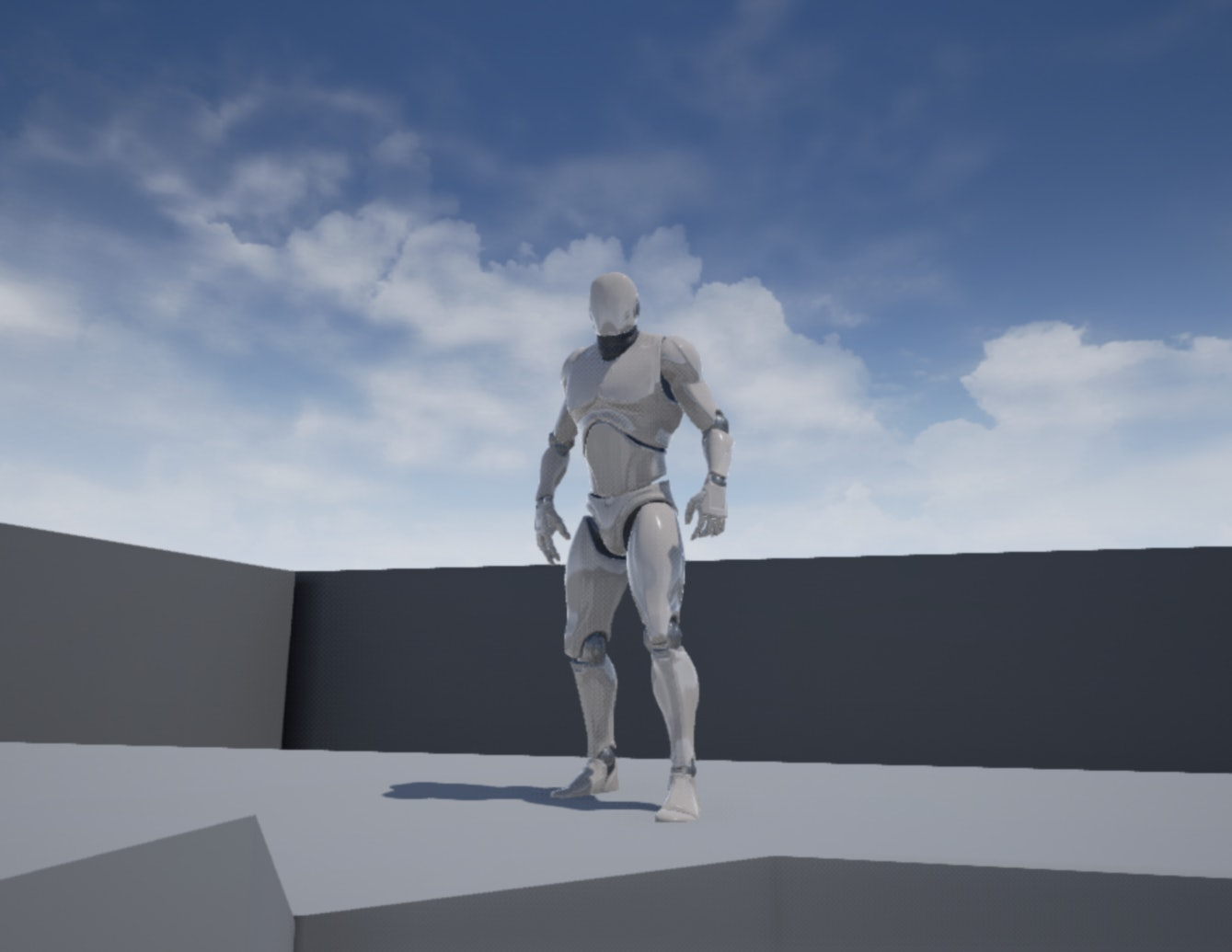 Unreal Engine 4 Character Model