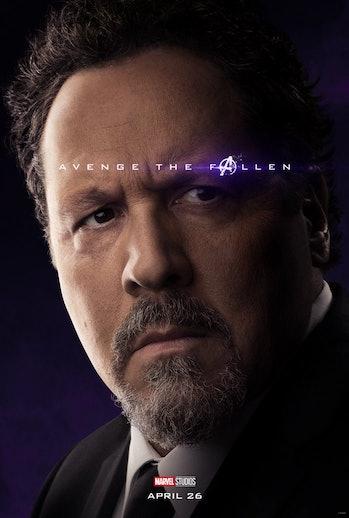 Avengers Endgame Happy Hogan