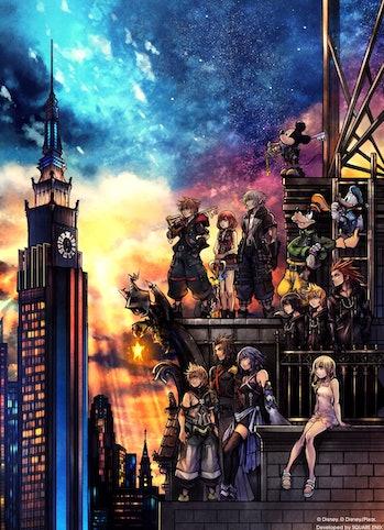 'Kingdom Hearts III' cover art.