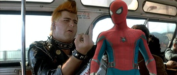 The punk from 'Star Trek IV' crossed over to the MCU in 'Spider-Man: Homecoming'