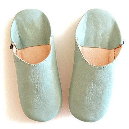 Dear Morocco Simple Babouche Sheepskin Slippers