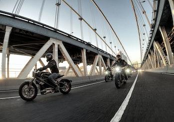 Harley-Davidson electric motorcycle bike noise sound