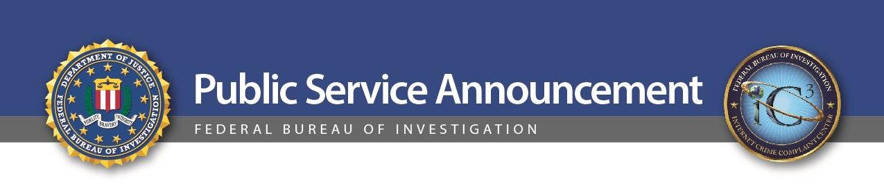 fbi public service announcement cybersecurity