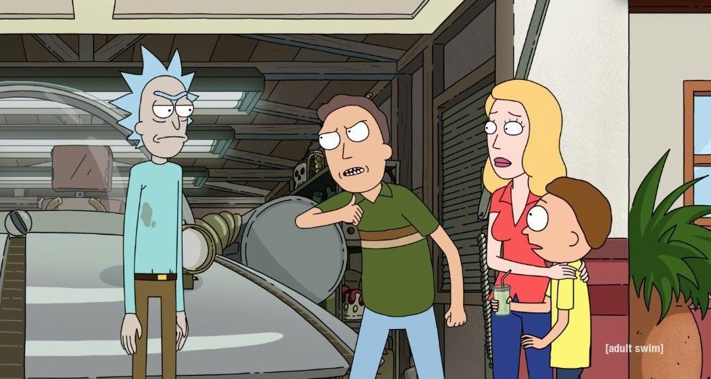 rick and morty season 4 premiere image