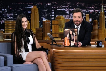 Demi moore no tooth