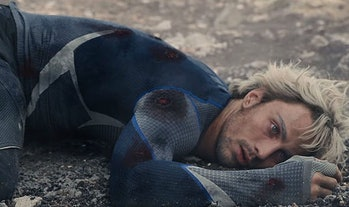 Quicksilver died back in 'Age of Ultron', but actorAaron Taylor-Johnson was spotted on the 'Avengers 4' set.