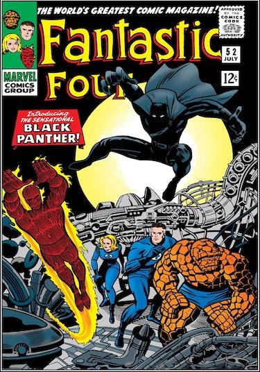 Black Panther Fantastic Four Debut
