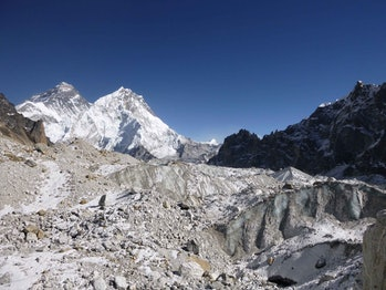 glaciers himalayas
