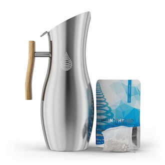 pH VITALITY Stainless Steel Alkaline Water Pitcher
