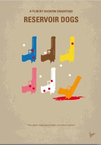 No069 My Reservoir Dogs minimal movie poster