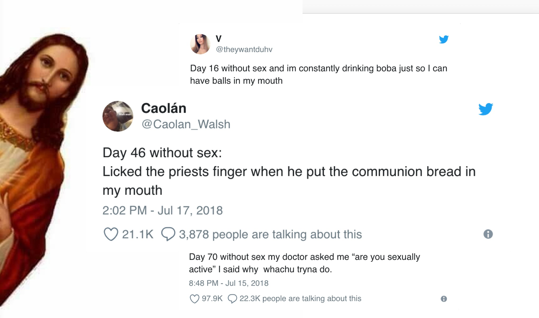 The 35 Best Days Without Sex Tweets