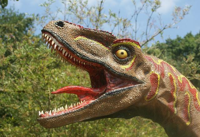 Bad dinosaur tongue