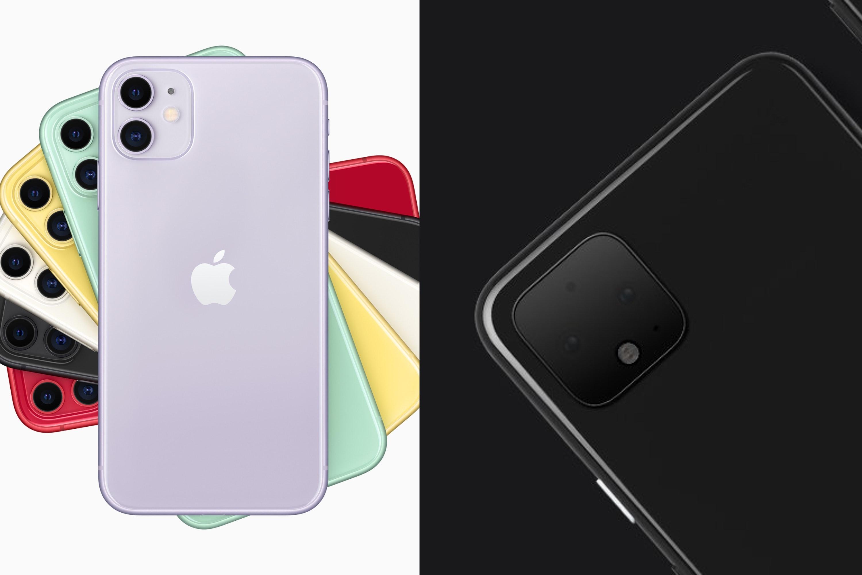 iphone 11 or pixel 4