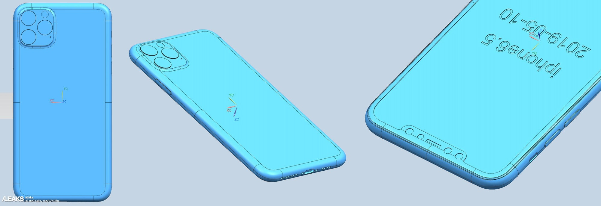 iphone 11 leaks chassis