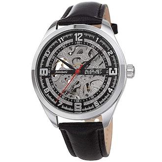 August Steiner Men's Skeleton Watch