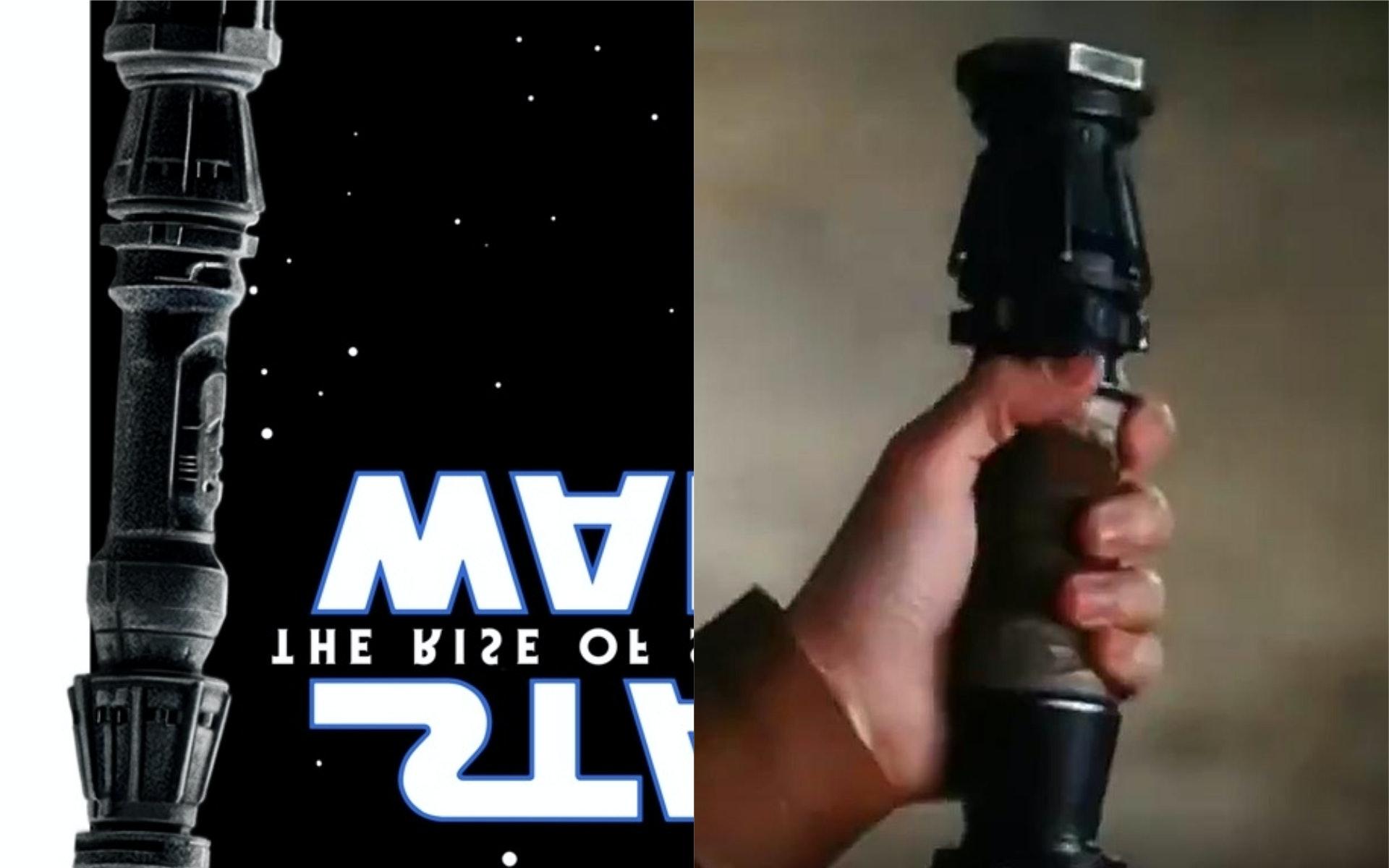 Star Wars Rise of Skywalker Rey Lightsaber