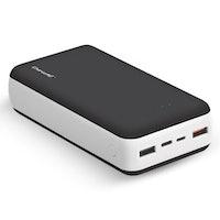ChargeMe Portable High Capacity Dual Input Power Bank