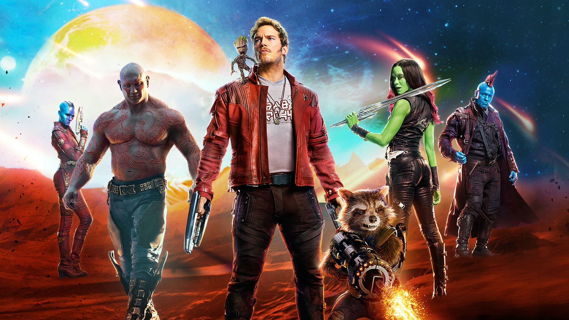 For a team of mostly aliens, the 'Guardians of the Galaxy' movies are strangely relatable.