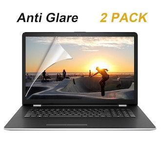 FORITO Anti Glare Screen Protector - 2 Pack
