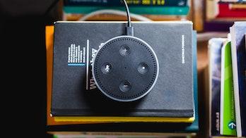 Amazon's Echo Dot.