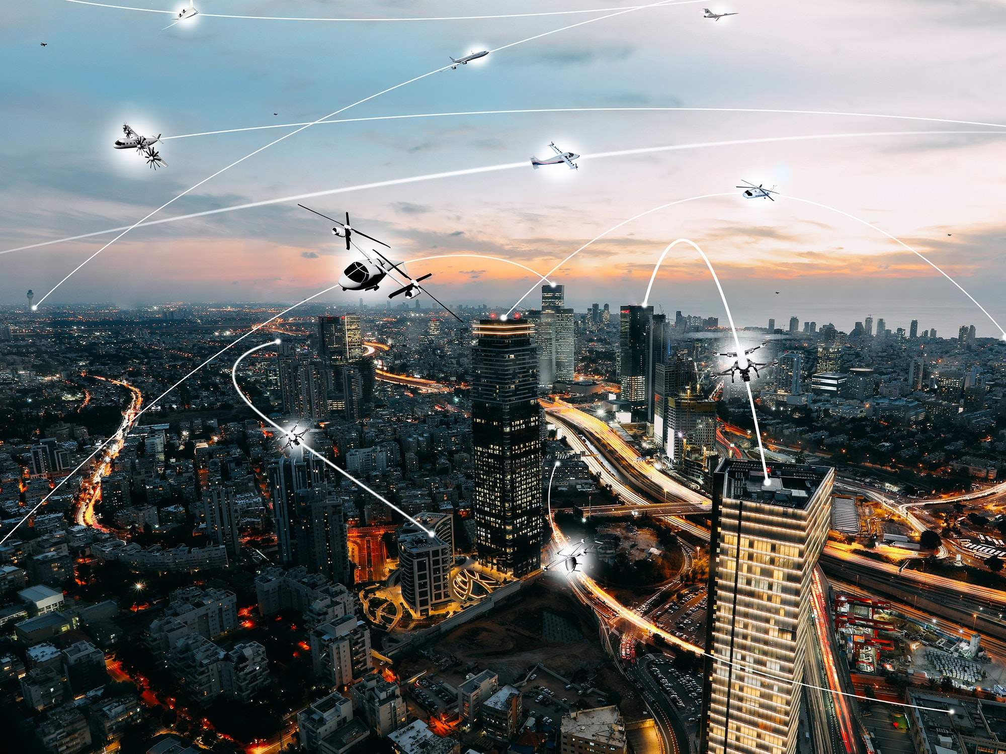 NASA's vision of what these flying cities could look like.