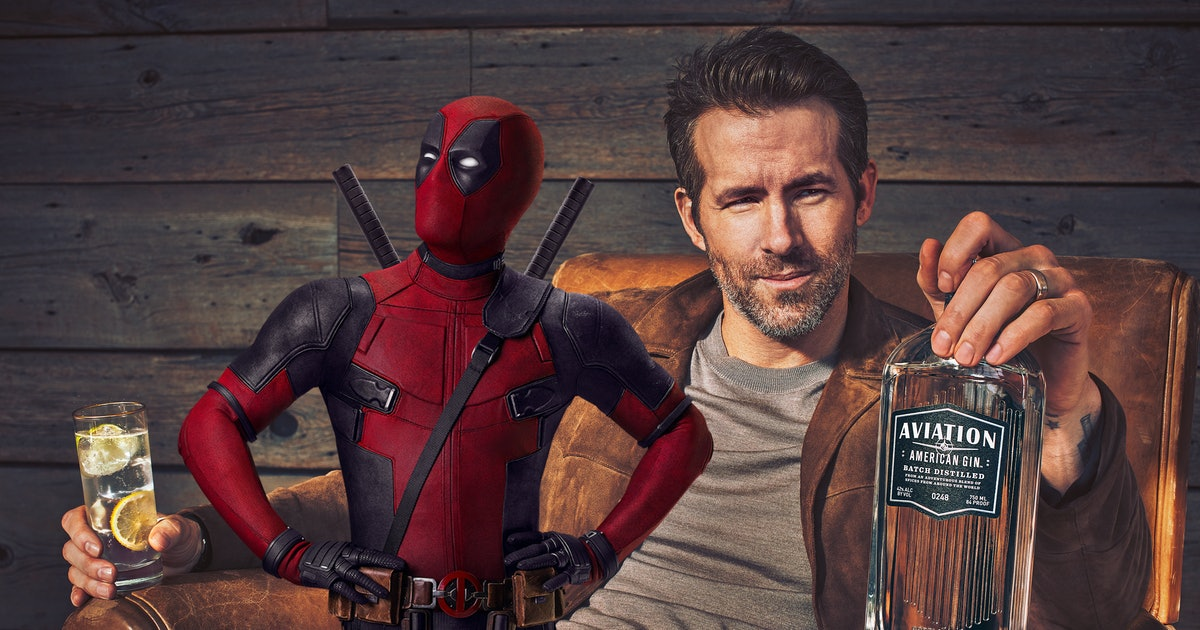 Deadpool: Hilarious Gin Ad Proves Ryan Reynolds Is Always in Character