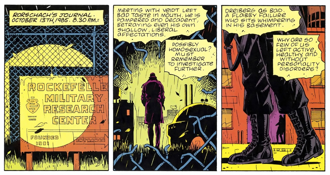 Rorschach journal Watchmen HBO