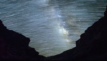 grand canyon skyglow sky space stars