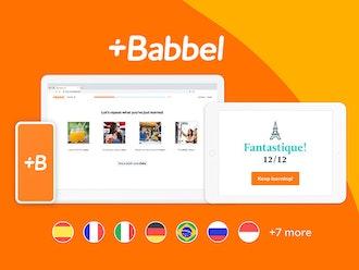 Babbel Language Learning: Lifetime Subscription