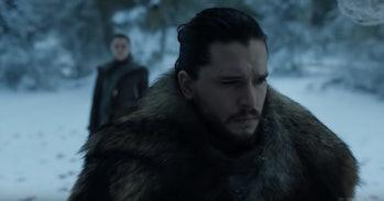 Game of Thrones Jon and Arya