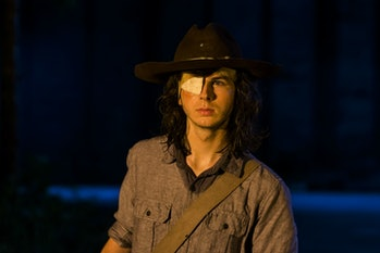 Carl (Chandler Riggs) from 'The Walking Dead'.