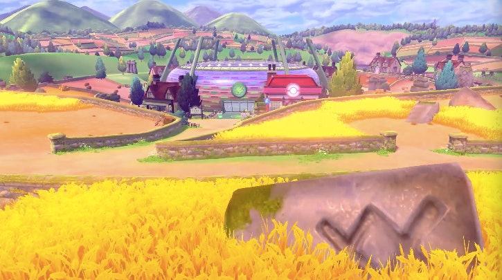 'Pokémon Sword and Shield' region