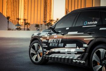 Audi Marvel Rocket's Rescue Run Avengers Endgame