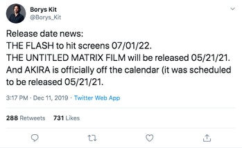 The Flash Release Date Borys Kit